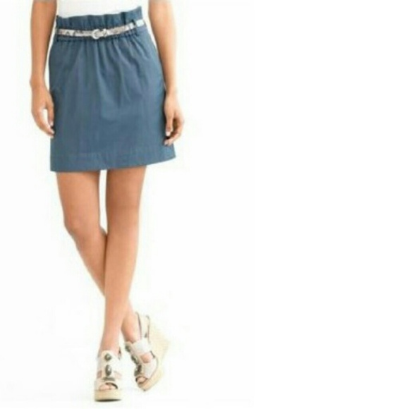 Banana Republic Dresses & Skirts - Banana Republic 'Paper Bag' A-Line Skirt